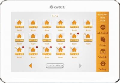 Gree központi vezérlőegység