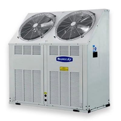 Gree kompakt léghűtéses, hőszivattyús moduláris 42 kw kültéri folyadékhűtő