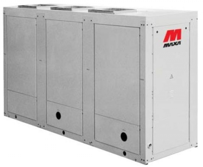 Maxa beltéri kompakt léghűtéses 47,6 kw-os folyadékhűtő