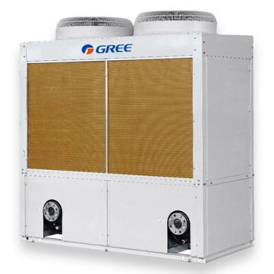 Gree kompakt léghűtéses, hőszivattyús moduláris 71 kw kültéri folyadékhűtő